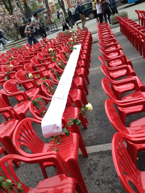 the white ribbon says that these are for employees for Bosnian Railways